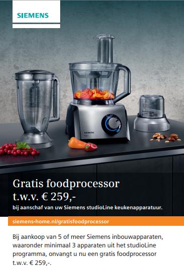 Siemens GRATIS foodprocessor