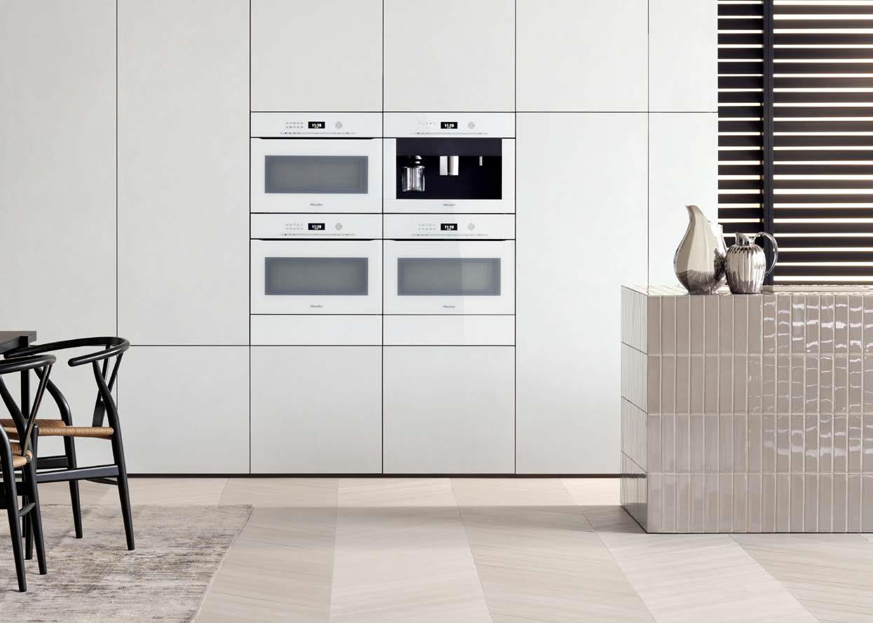 Miele Artline wit frontview