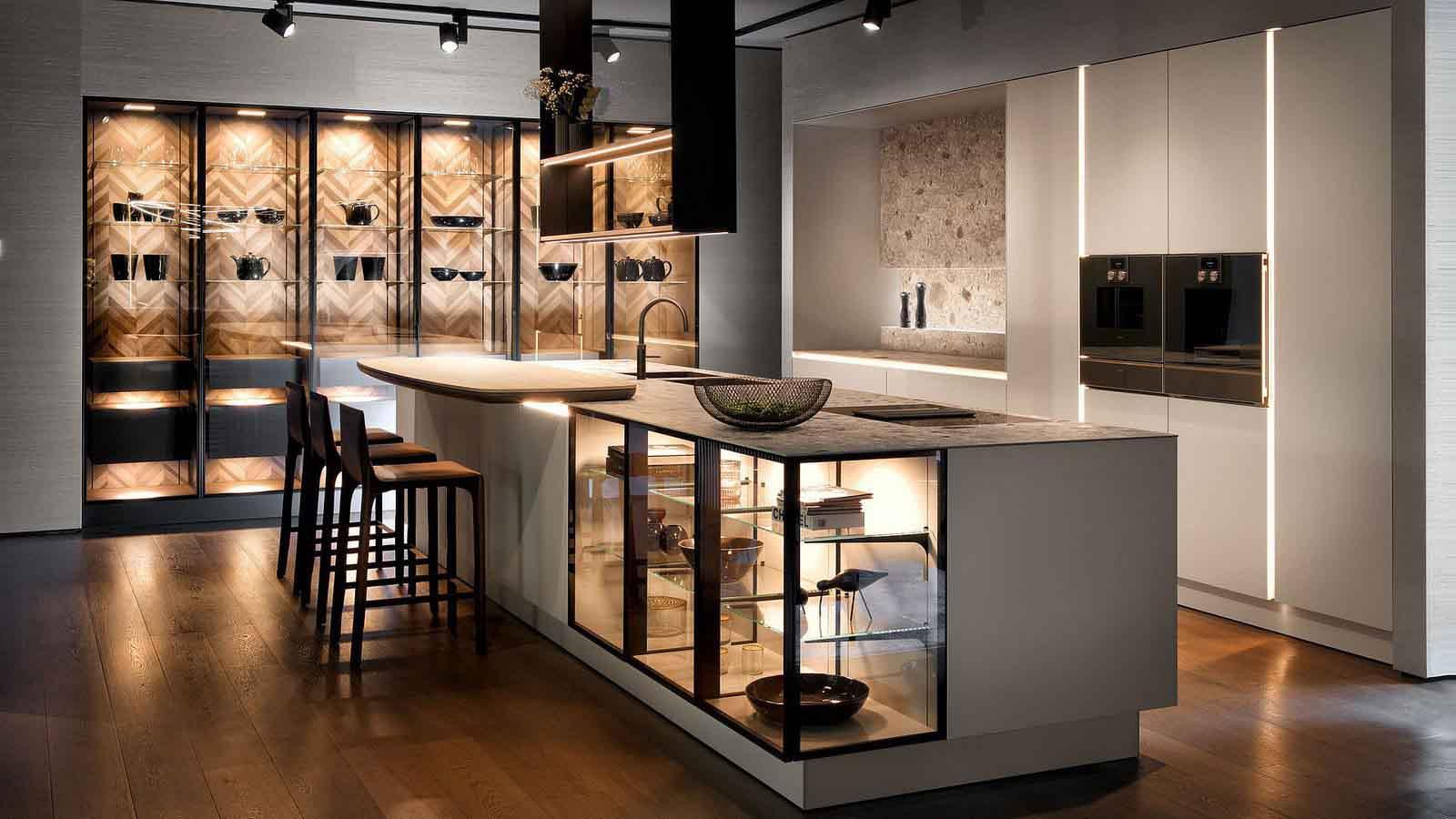 Een SieMatic greeploze keuken.